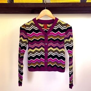 Missoni for Target Striped Cardigan Sweater - sz.L